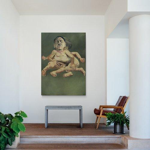 cuadros modernos para salón