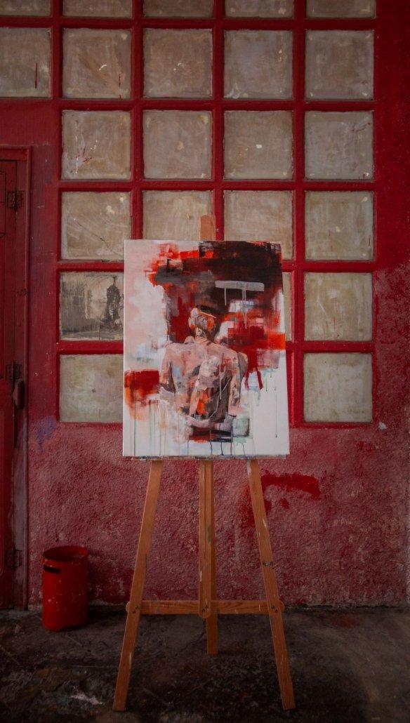 Pintura al óleo de Fernando Romero