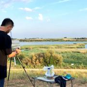 Dresu pintura de paisaje