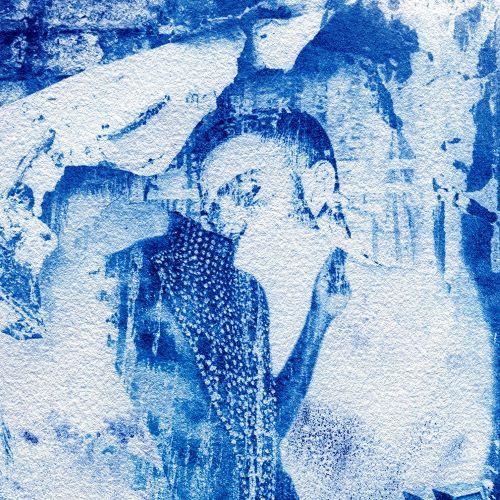 Juan Rivas_Detalle obra Una pared de Chueca después de la pandemia