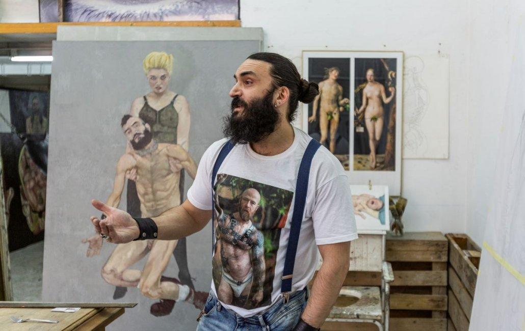 Nacho Hernández Álvarez entrevista para Inéditad Galería