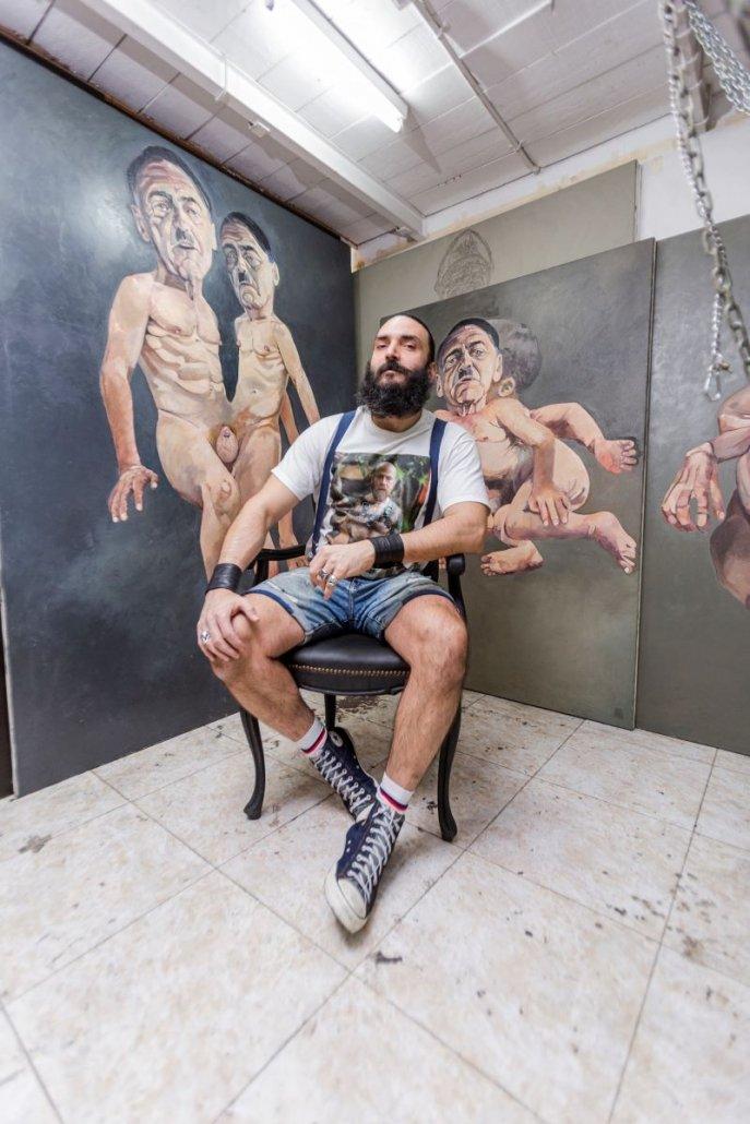 Nacho Hernádez Álvarez con obras disponibles en Ineditad Galería