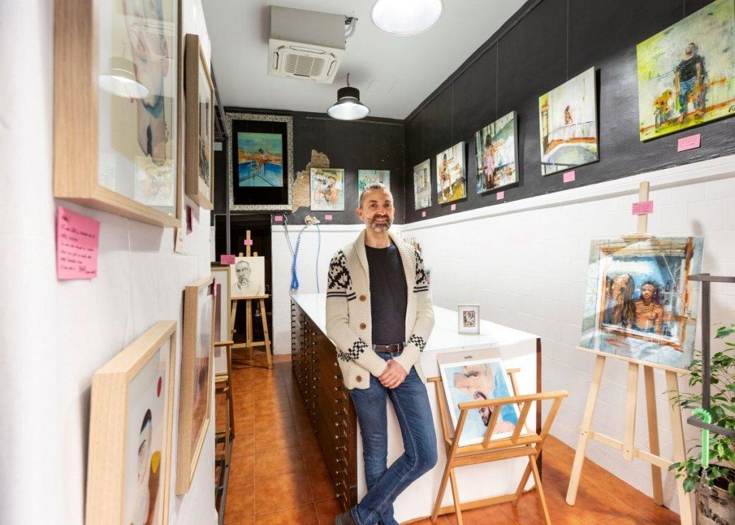 Luis López Director de Inéditad Galería