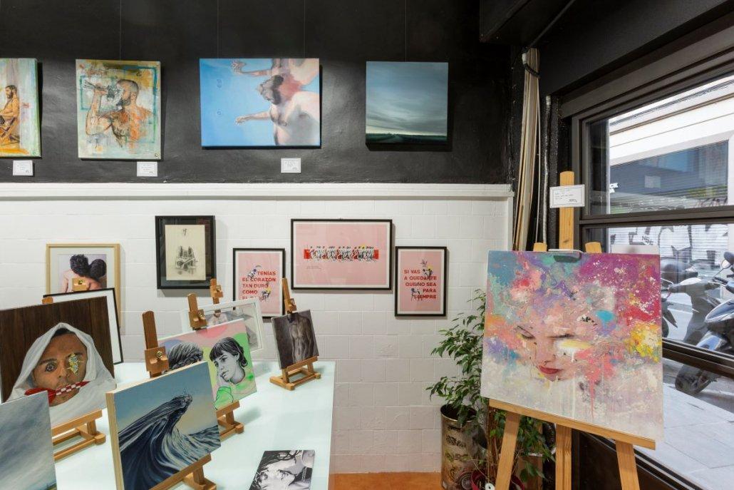 los mejores pintores en Ineditad Galería