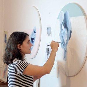 Ana Patitú artista en Ineditad Galería