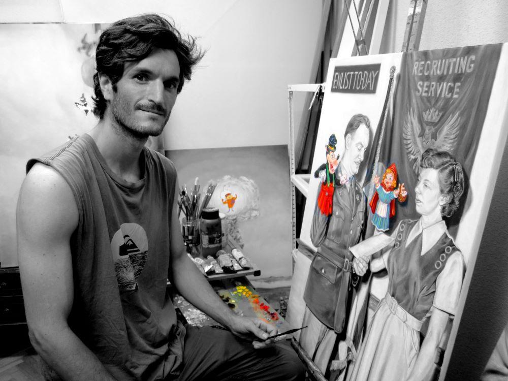Jaime Sancorlo en Ineditad Galería