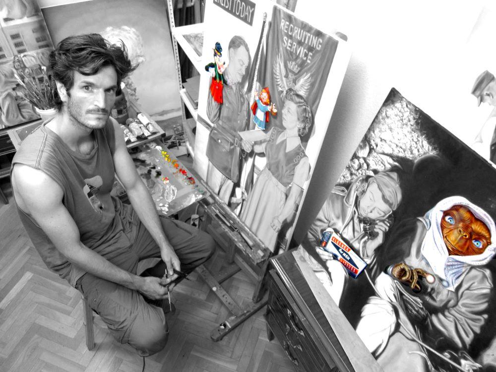 Jaime Sancorlo artista Ineditad