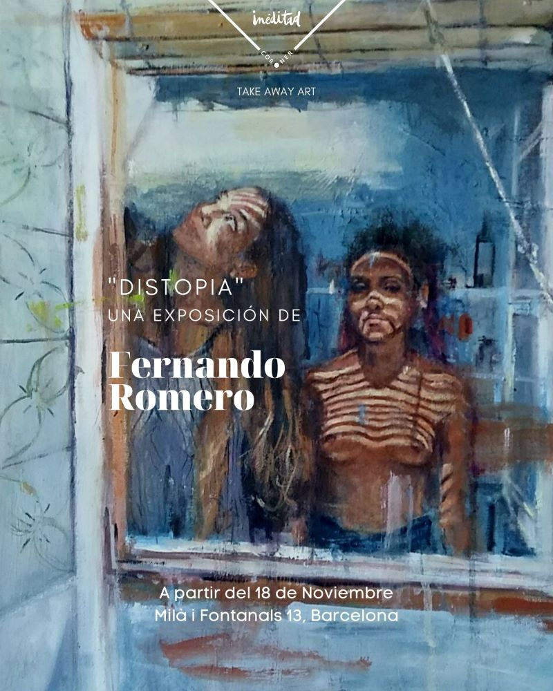 Cartel Exposición Distopia Fernando Romero web