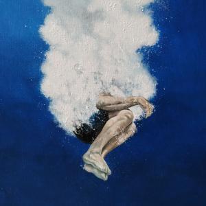 Pintura al óleo de Raúl Álvarez Jiiménez en Inéditad Galería
