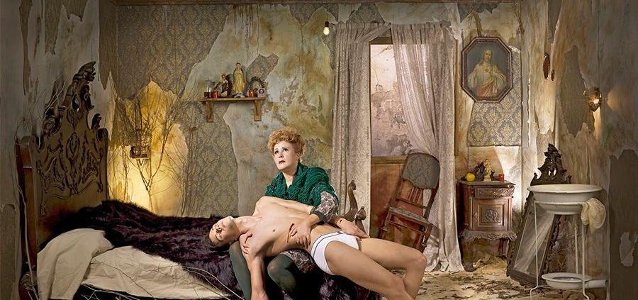 """Fernando Bayona. """"Circus Christi-La Pietà"""". 2010"""