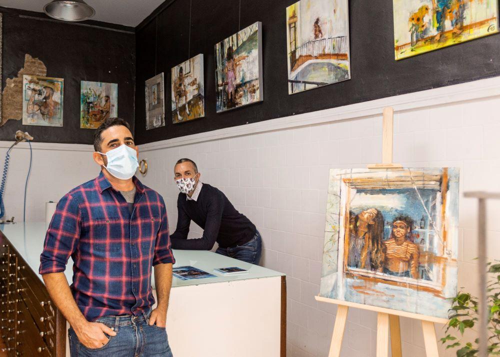 Inauguración Exposición Individual de Fernando Romero