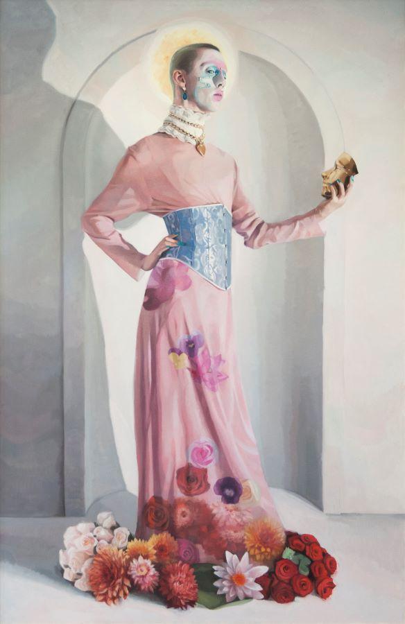 Obra de Jean Carlos Puerto para Ineditad Galería en Art Madrid 2021