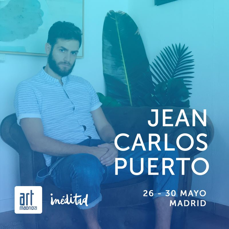 Jean Carlos Puerto en Art Madrid 2021