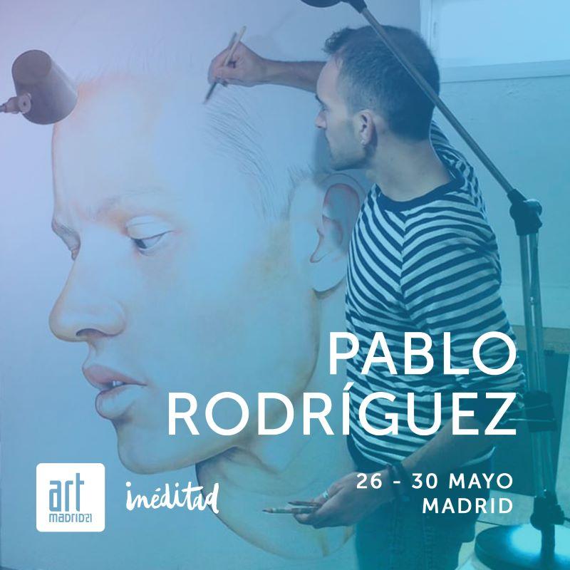 Pablo Rodríguez en Art Madrid 2021