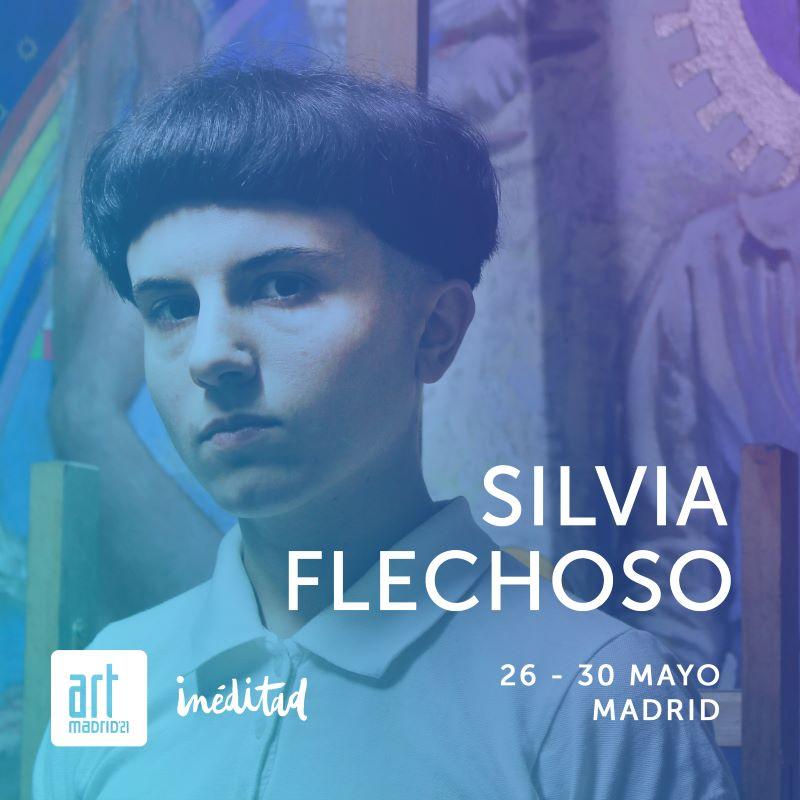 Silvia Flechoso en Art Madrid 2021