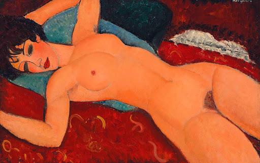 Amadeo Modigliani_Desnudo reclinado_1917_ Liu Yiquian Collection