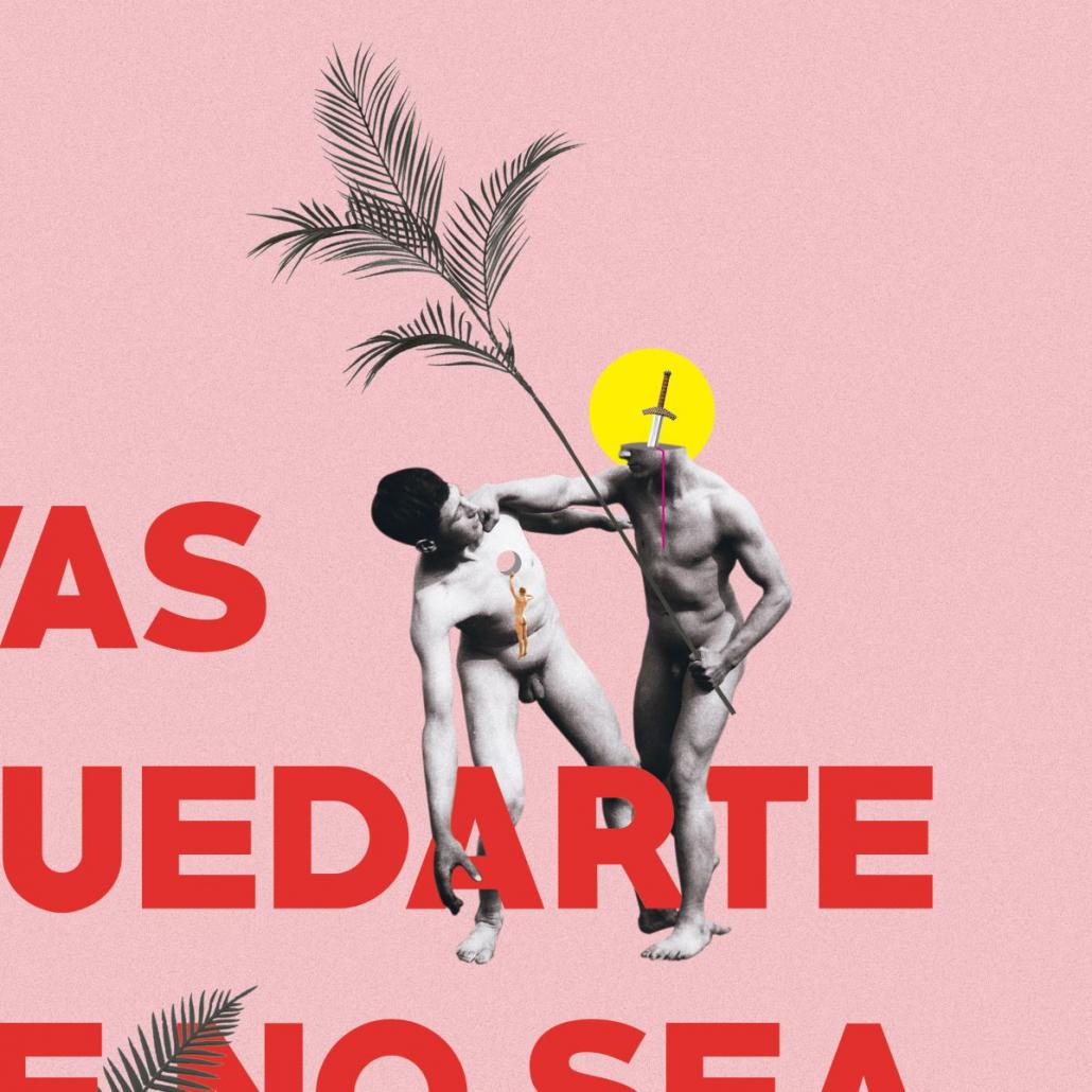 Detalle obra Quedarte de Juan Carlos Mora