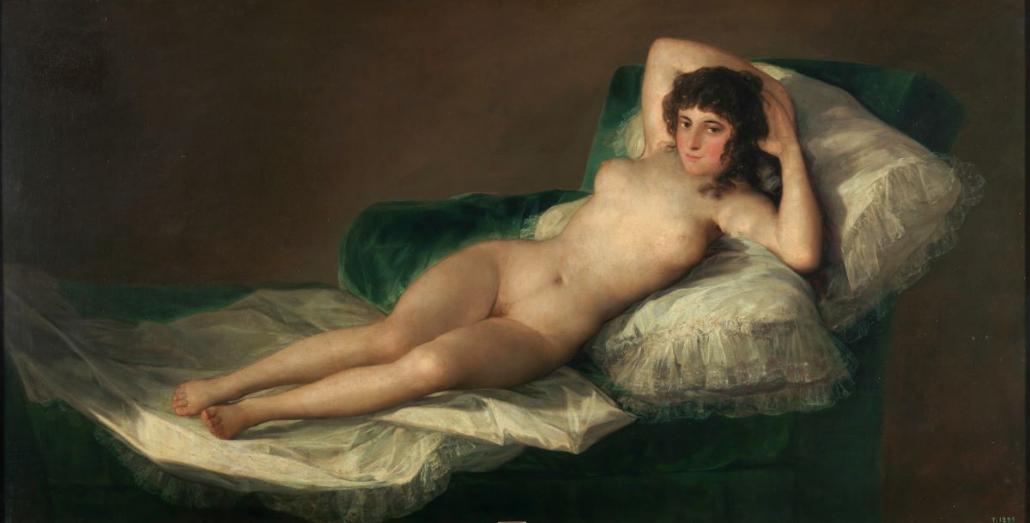 La maja desnuda de Goya