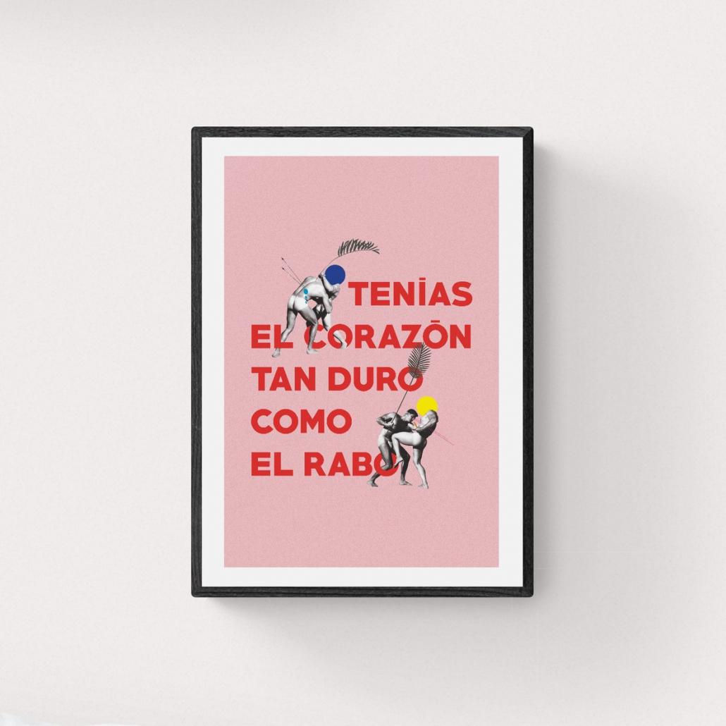 Collage Digital de Juan Carlos Mora en Ineditad Galería