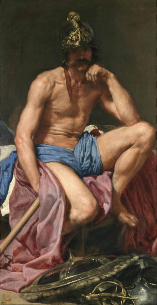 El Dios Marte_Diego de Velazquez