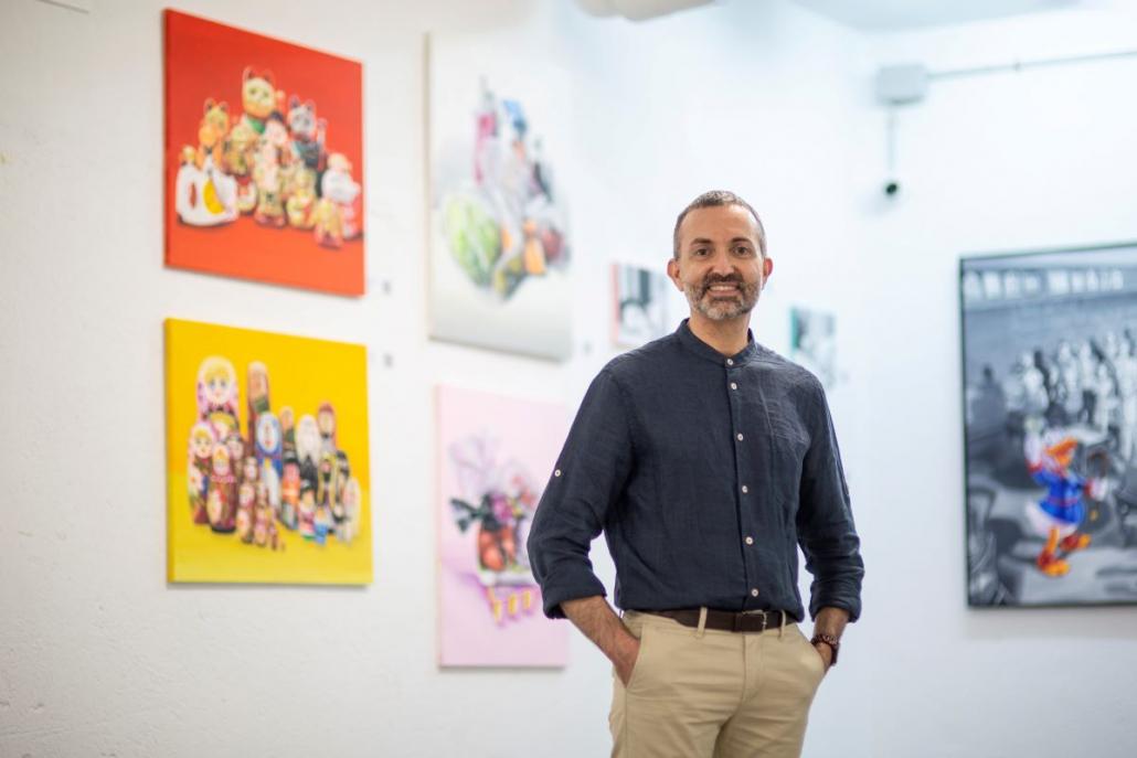 Luis López Almarcha Director de Galería Inéditad