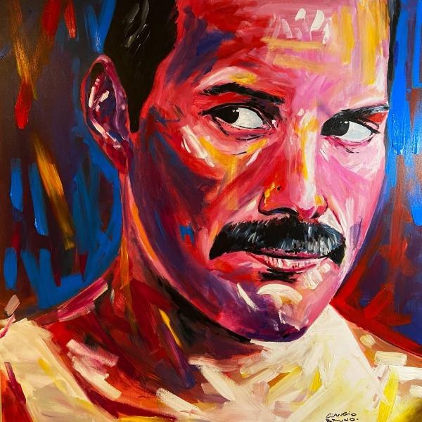 Freddie Mercury por Bruno Ciancio
