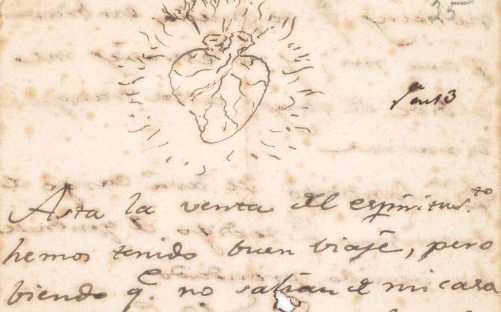 Última carta de Goya a Martin Zapater-1799. Museo del Prado